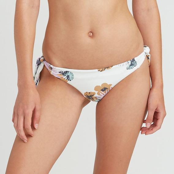 Bikini Calzon Femenino Romeo Floral Cheeky Crema Rvca
