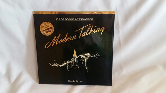 Modern Talking - In The Middle Of Nowhere - 1986 - Usado/lp