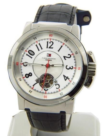 Relógio Luxo Tommy Hilfiger Th1780818 Orig Mec Autom Couro!!