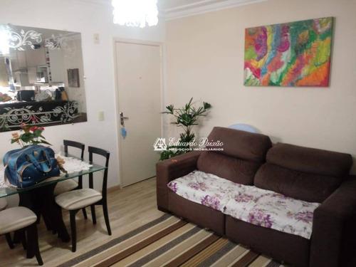 Apartamento Com 2 Dormitórios À Venda, 47 M² Por R$ 195.000,00 - Água Chata - Guarulhos/sp - Ap0268