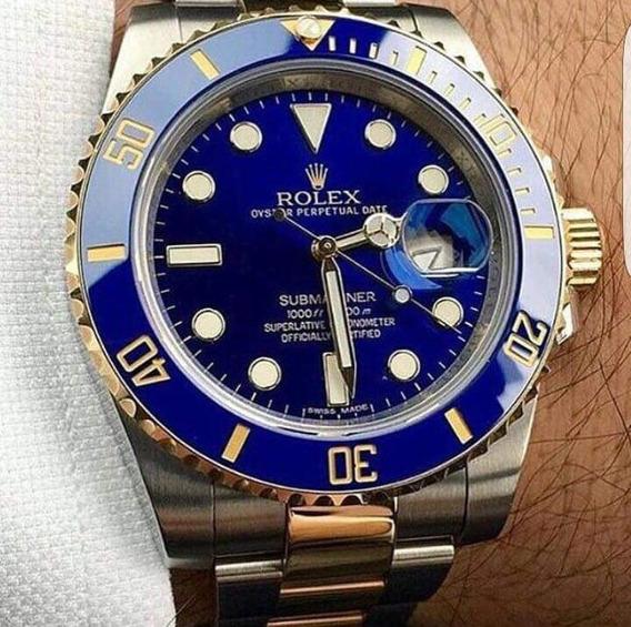 Reloj Automático Submarine Azul