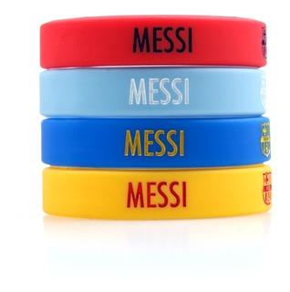 Pulseira Messi - Barcelona - Silicone - Exclusivas. Frete 10