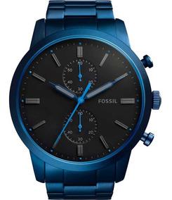 Relógio Fossil Azul Marinho - Fs5345/4pn