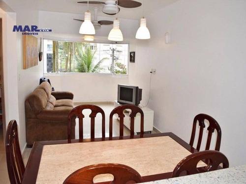 Imagem 1 de 10 de Apartamento Residencial À Venda, Barra Funda, Guarujá - . - Ap7779