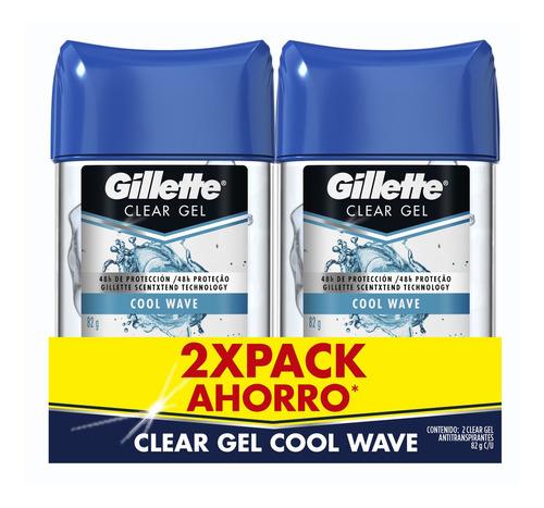 Desodorante Gillette Clear Gel Cool Wav - Gr a $177