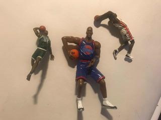 Figuras Nba Originales Michael Jordan, Lebron James, Celtics