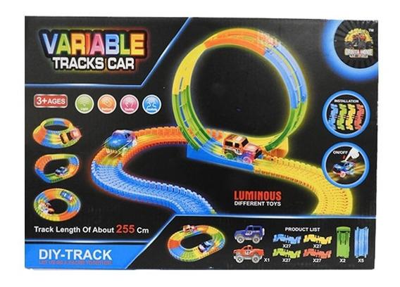 Pista Flexible 92 Pcs Con 1 Auto Luminoso 1728491