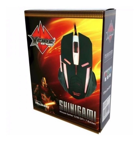 Mouse Gamer Shinigami 3200 Dpi