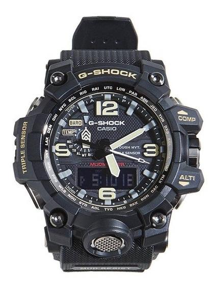 Relógio Casio G-shock Gwg1000-1a Triplo Sensor Solar 6 Band