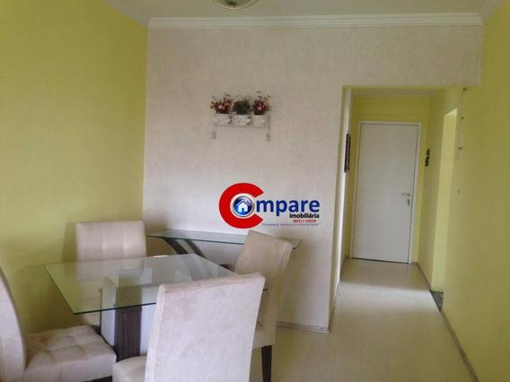Apartamento Com 2 Dormitórios À Venda, 65 M² Por R$ 330.000 - Gopoúva - Guarulhos/sp - Ap6887