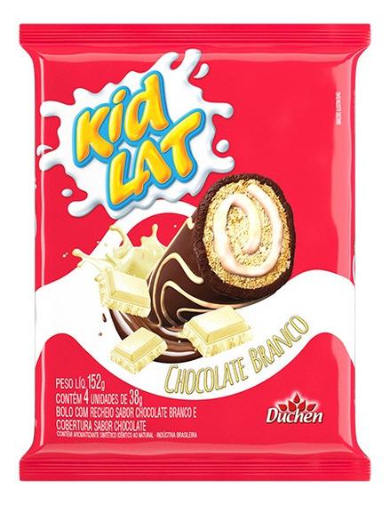 Bolinho Kidlat 1 Unidade De 152g - Recheio Chocolate Branco