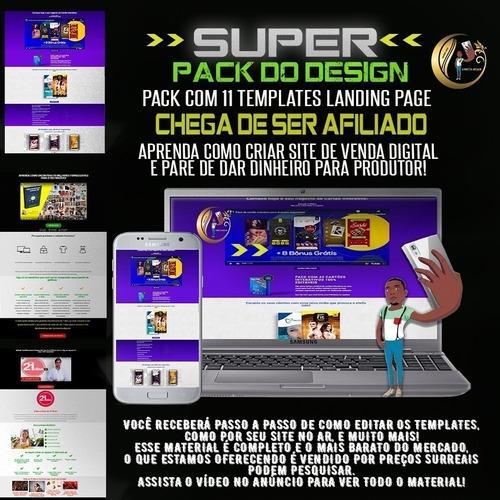 Pack De Landing Page 11 Template Aulas De Como Criar Site Mercado Livre