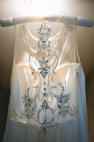 Vestido De Novia Diseño Exclusivo Marfil