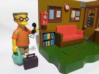 Playset The Simpsons Geriatrico Más Playmate Smithers