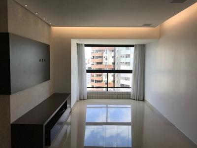 Apartamento 3 Qtos 3 Suites, 100m2, Nascente, 17o Andar