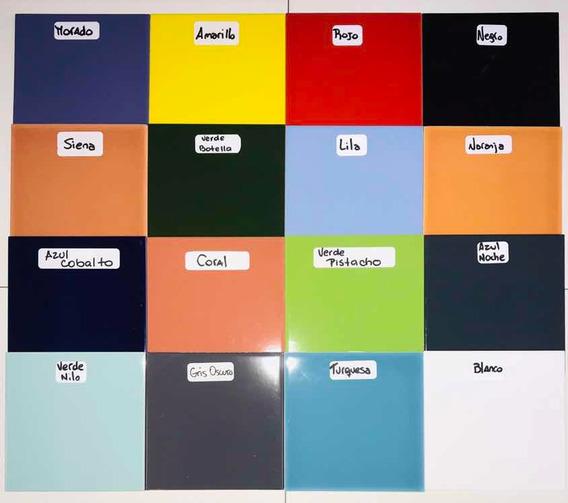 Azulejos De Colores 15x15 ( Pack Por 20) Para Mosaiqusimo