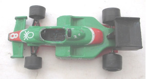 C4442 Miniatura Benetton F1 Racing,da Majorette, (n.238), F