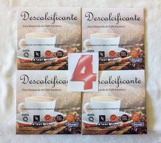 4 Descalcificante Nespresso Dolce Gusto Tres Saeco Krups