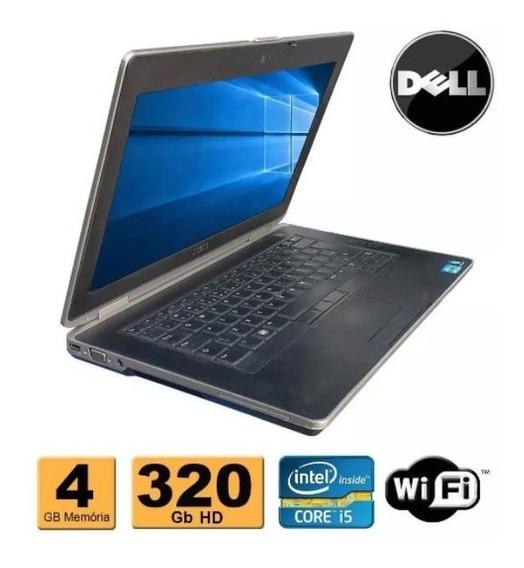 Notebook Dell Latitude E6430 Core I5 4gb Hd 320gb Hdmi
