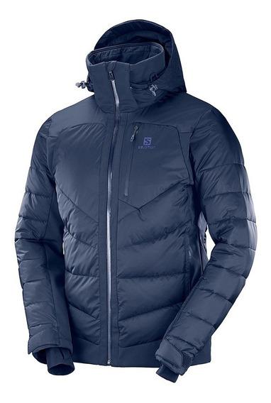 Chamarra Hombre Sky Esquí Alpino Iceshelf Azul Salomon