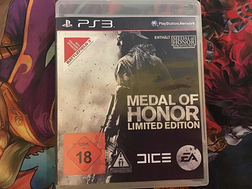 Medal Of Honor Limite Edition.  Ps3