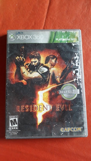 Resident Evil 5 Fisico Original Xbox360