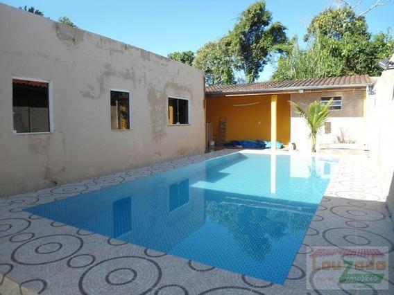 Casa Para Venda Em Peruíbe, Balneario Sao Joao Batista, 1 Dormitório, 1 Banheiro, 3 Vagas - 0316