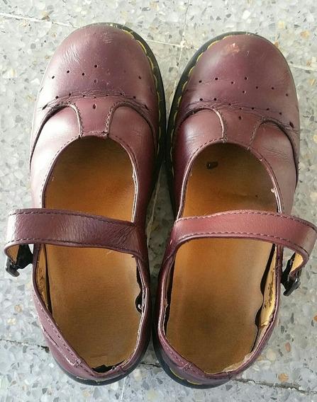 Zapatos Doctor Martens, Mujer, Talla 23 Color Vino