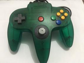 Controle N64 Verde Transparente