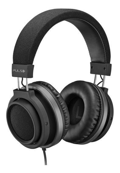 Fone De Ouvido Preto Headphone Auxiliar P2 Large Ph226 Pulse