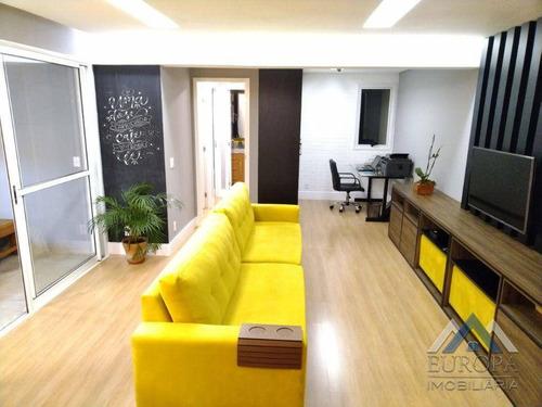Apartamento Com 2 Dormitórios À Venda, 79 M² Por R$ 500.000,00 - Gleba Palhano - Londrina/pr - Ap1022