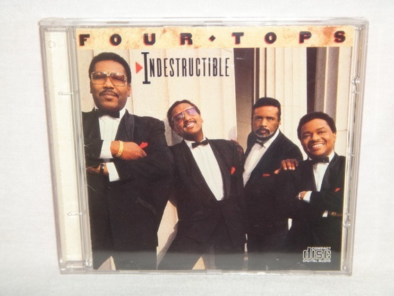 Cd - Four Tops - Indestructible
