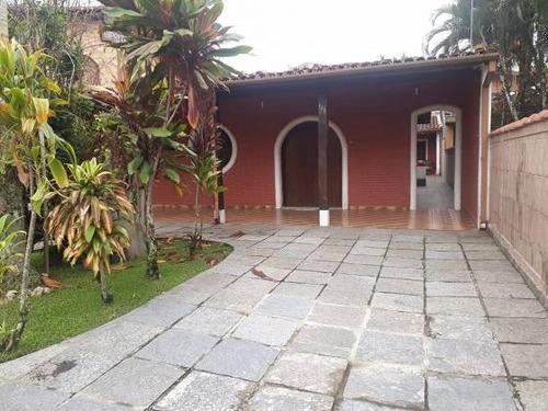 Imagem 1 de 11 de Ubatuba Casa Espaçosa Em Local Privilegiado