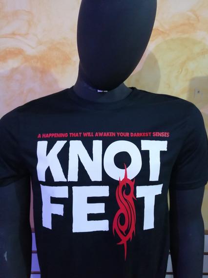 Camiseta Slipknot Knotfest 2019 México