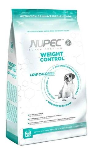 Alimento Nupec Nutrición Especializada Weight Control para perro adulto todos los tamaños sabor mix en bolsa de 15kg