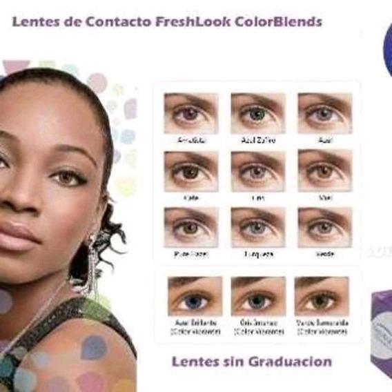 Lentes De Contacto Freshlook En Diversos Colores