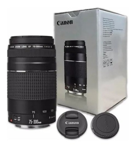 Lente Canon Ef 75-300mm F/ 4-5.6 Ill Pronta Entrega