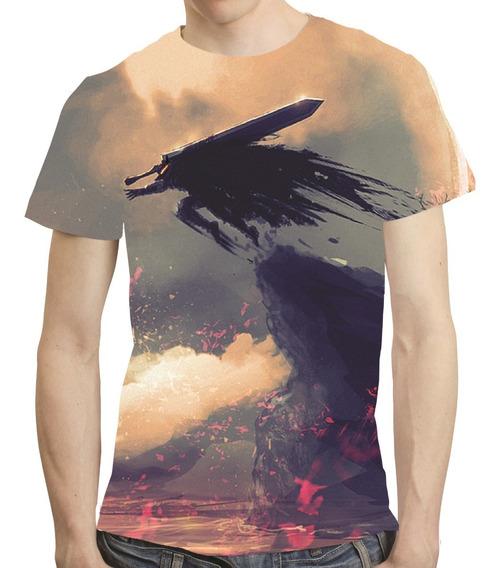 Camisa Anime Camiseta Berserk - Estampa Total 07