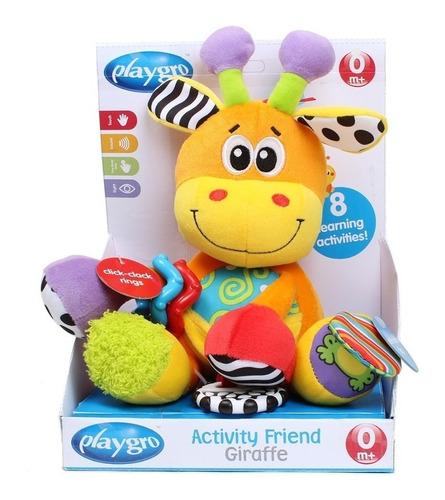 Peluche Jirafa Playgro Activity Friend Giraffe Edu Full