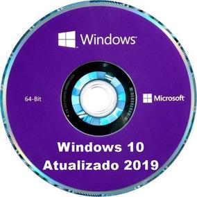 Cd Dvd Instalação E Formatação Windows 10 Pro 64 Bits 2019