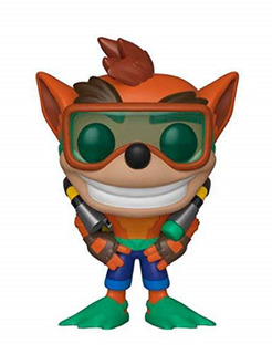 Funko Pop Crash With Scuba Gear Crash Bandicoot