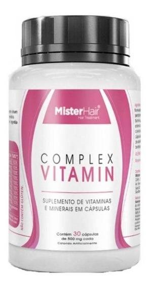 Vitaminas Para Cabelo E Unhas - Mister Hair