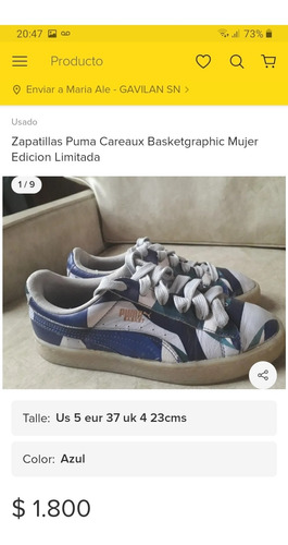 Zapatillas Puma Careaux