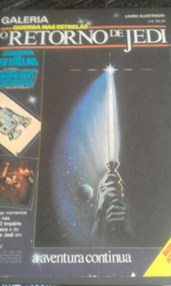Álbum Figurinhas Guerra Nas Estrelas O Retorno De Jedi Vazio