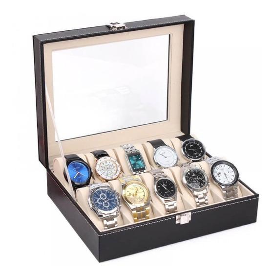 Organizador Estuche Caja 12 Relojes Exhibidor 774956 Fernape