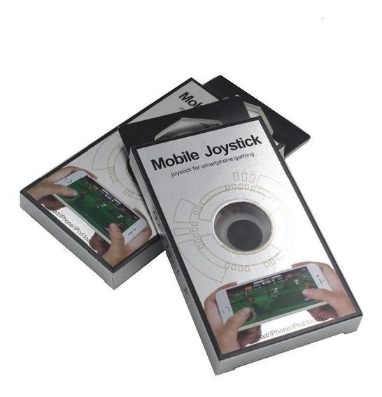 Kit 2 Mini Mobile Joystick Smartphones Tablet iPad Android