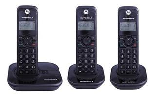 Telefone Sem Fio Motorola Gate4000-mrd3 Vitrine + 2 Ramais