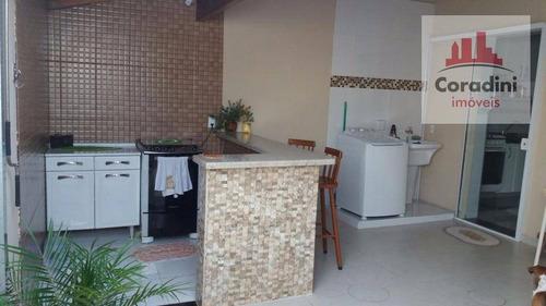 Imagem 1 de 23 de Casa Residencial À Venda, Parque Villa Flores, Sumaré. - Ca1132