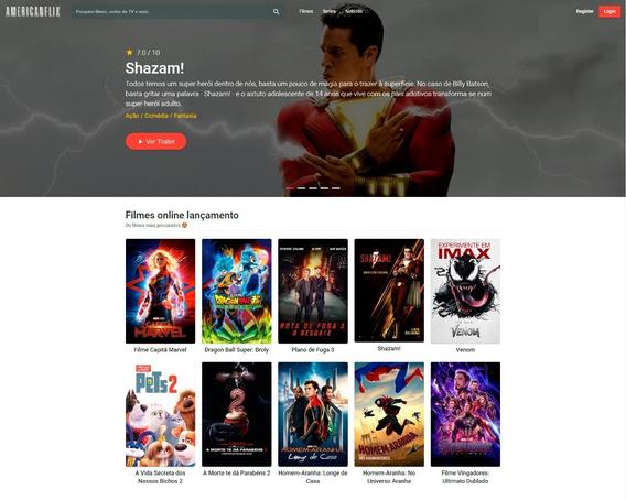 Site De Filmes E Series + Postagem Automática + Servidor Pro