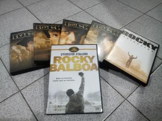 Oferta Coleccion Rocky 1, 2, 3, 4, 5 Y6 En 6 Dvds Originales